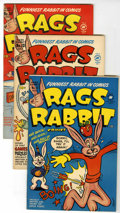 Golden Age (1938-1955):Funny Animal, Rags Rabbit Comics #12-18 File Copies Group (Harvey, 1951-52)Condition: Average VF.... (Total: 7 Comic Books)