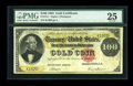 Large Size:Gold Certificates, Fr. 1211 $100 1882 Gold Certificate PMG Very Fine 25....
