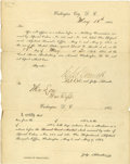 Autographs:Military Figures, [Trial of the Assassination Conspirators] Colonel Henry L. Burnett, Special Judge Advocate for the Military Tribunal that Boot...