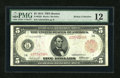Fr. 832b $5 1914 Red Seal Federal Reserve Note PMG Fine 12