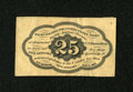 Fractional Currency:First Issue, Fr. 1282SP 25c First Issue Narrow Margin Very Good....