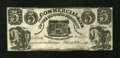 Canadian Currency: , Kingston, UC- Commercial Bank of the Midland District $5 Aug. 1,1848. ...