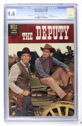Silver Age (1956-1969):Miscellaneous, Four Color #1130 The Deputy (Dell, 1960) CGC NM 9.4 Cream tooff-white pages....