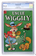 Golden Age (1938-1955):Funny Animal, Four Color #543 Uncle Wiggily (Dell, 1954) CGC NM- 9.2 Off-whitepages....