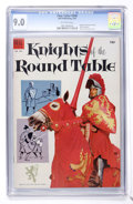 Golden Age (1938-1955):Miscellaneous, Four Color #540 Knights of the Round Table (Dell, 1954) CGC VF/NM 9.0 Off-white pages....