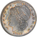 Patterns, 1877 50C Half Dollar, Judd-1539A, Pollock-1707, R.8, PR65 NGC....