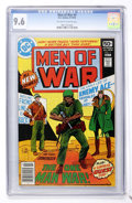 Bronze Age (1970-1979):War, Men of War #9 (DC, 1978) CGC NM+ 9.6 Off-white to white pages....