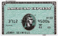 Movie/TV Memorabilia:Props, Jerry Seinfeld Prop American Express Card....