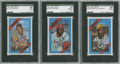 Baseball Cards:Sets, 1972 Kellogg's Baseball Complete Set (54) Plus All-Time Greats Near Set (14/15). ...
