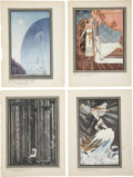 Antiques:Posters & Prints, Kay Nielsen. Set of Illustrated Color Plates From East of theSun and West of the Moon.... (Total: 21 Items)