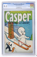 Golden Age (1938-1955):Cartoon Character, Casper the Friendly Ghost #8 File Copy (Harvey, 1953) CGC VF+ 8.5Cream to off-white pages....