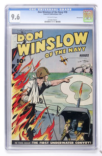 Don Winslow of the Navy #18 Pennsylvania pedigree (Fawcett, 1944) CGC NM+ 9.6 Off-white pages