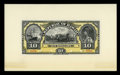 Large Size:Demand Notes, $10 Republic of Hawaii Gold Certificate 1895 (1899) Pick 7p Face and Back Proofs Choice New.... (Total: 2 notes)