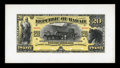 Large Size:Demand Notes, $20 Republic of Hawaii Gold Certificate 1895 (1899) Pick 8p Face and Back Proofs Choice New.... (Total: 2 notes)