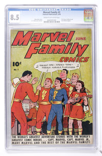 The Marvel Family #2 (Fawcett, 1946) CGC VF+ 8.5 Cream to off-white pages