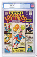 Silver Age (1956-1969):Superhero, Superboy Annual #1 (DC, 1964) CGC VF/NM 9.0 Off-white to white pages....