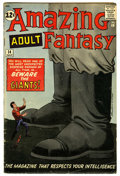 Silver Age (1956-1969):Mystery, Amazing Adult Fantasy #14 (Marvel, 1962) Condition: GD/VG....