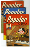 Golden Age (1938-1955):Miscellaneous, Popular Comics #136-140 Group (Dell, 1947).... (Total: 5)
