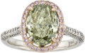 Estate Jewelry:Rings, Chameleon Diamond, Pink Diamond, Diamond, Gold Ring. ...
