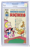 Bronze Age (1970-1979):Humor, Richie Rich Riches #21 File Copy (Harvey, 1975) CGC NM+ 9.6Off-white to white pages....