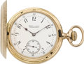 Timepieces:Pocket (post 1900), Vacheron & Constantin Private Label Gold Pocket Watch, circa 1905. ...