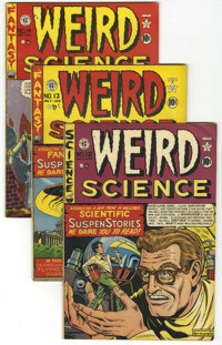 Weird Science Group (EC, 1950-53) Condition: Average Qualified FN-.... (Total: 22 Comic Books)