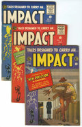 Golden Age (1938-1955):Horror, Impact #1-5 Qualified Group (EC, 1955).... (Total: 5 Comic Books)