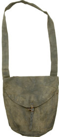 Military & Patriotic:Civil War, Nicely Marked, Historic Haversack with Massachusetts History. ...