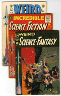 Golden Age (1938-1955):Science Fiction, Weird Science-Fantasy and Incredible Science Fiction - QualifiedGroup (EC, 1954-56).... (Total: 11 Comic Books)