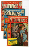 Golden Age (1938-1955):Miscellaneous, Psychoanalysis #1-4 Qualified Group (EC, 1955).... (Total: 5 Comic Books)