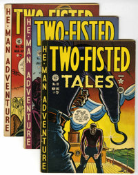 Two-Fisted Tales Group (EC, 1950-55) Condition: Average Qualified VG/FN.... (Total: 24 Comic Books)