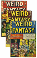 Golden Age (1938-1955):Science Fiction, Weird Fantasy Group (EC, 1950-53) Condition: Average QualifiedFN-.... (Total: 22 Comic Books)