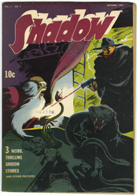 Shadow Comics V3#7 (Street & Smith, 1943) Condition: Qualified FN/VF