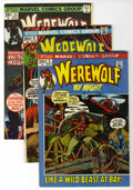 Bronze Age (1970-1979):Horror, Werewolf by Night Group (Marvel, 1972-75) Condition: Average VF....(Total: 15 Comic Books)
