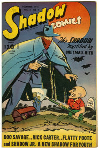 Shadow Comics V6#9 (Street & Smith, 1946) Condition: VF