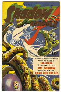 Shadow Comics V4#10 (Street & Smith, 1945) Condition: VF-