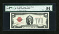 Small Size:Legal Tender Notes, Fr. 1505 $2 1928D B-A Mule Legal Tender Note. PMG Choice Uncirculated 64 EPQ.. ...
