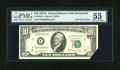 Error Notes:Foldovers, Fr. 2024-E $10 1977A Federal Reserve Note. PMG About Uncirculated55.. ...