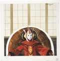 Original Comic Art:Covers, Paul Wenzel Save Naboo, Star Wars Junior Book Series,Queen Padme' Amidala Cover Illustrat...
