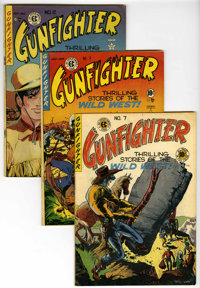 Gunfighter Group (EC, 1948-50) Qualified.... (Total: 4 Comic Books)