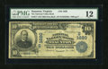 National Bank Notes:Virginia, Staunton, VA - $10 1902 Date Back Fr. 617 The National Valley BankCh. # (S)1620. ...