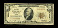 National Bank Notes:Virginia, Coeburn, VA - $10 1929 Ty. 1 The First NB Ch. # 6899. ...