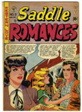 Golden Age (1938-1955):Romance, Saddle Romances #9 (EC, 1949) Condition: FN+....