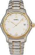 Timepieces:Wristwatch, Ebel Men's New Steel & Gold 1911 Model Wristwatch. ...