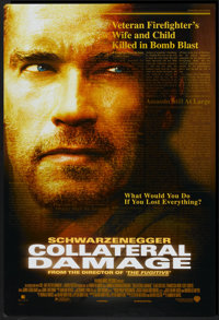 "Collateral Damage (Warner Brothers, 2002). One Sheet (27"" X 40"") DS. Action"