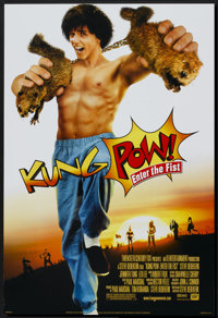 """Kung Pow: Enter the Fist (20th Century Fox, 2002). One Sheet (27"""" X 40"""") DS. Action"""