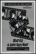 "Movie Posters:Rock and Roll, A Hard Day's Night (Universal, R-1982). One Sheet (27"" X 41""). Rock and Roll...."