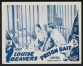 """Movie Posters:Black Films, Reform School Lot (Toddy Pictures, R-1940s). Lobby Cards (4) (11"""" X14""""). Black Films. Also known as Prison Bait.... (Total: 4Items)"""