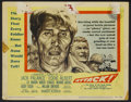 "Movie Posters:War, Attack! (United Artists, 1956). Lobby Card Set of 8 (11"" X 14"").War.... (Total: 8 Items)"