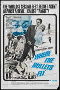 """Movie Posters:Comedy, Where the Bullets Fly (Embassy Pictures, 1966). One Sheet (27"""" X 41""""). Comedy...."""